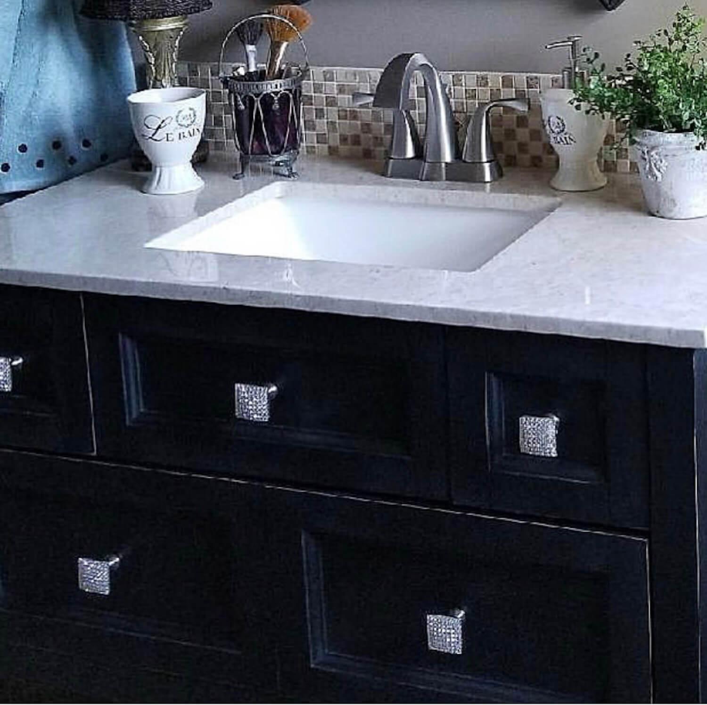 Brilliant Square Furniture Or Cabinet Knob