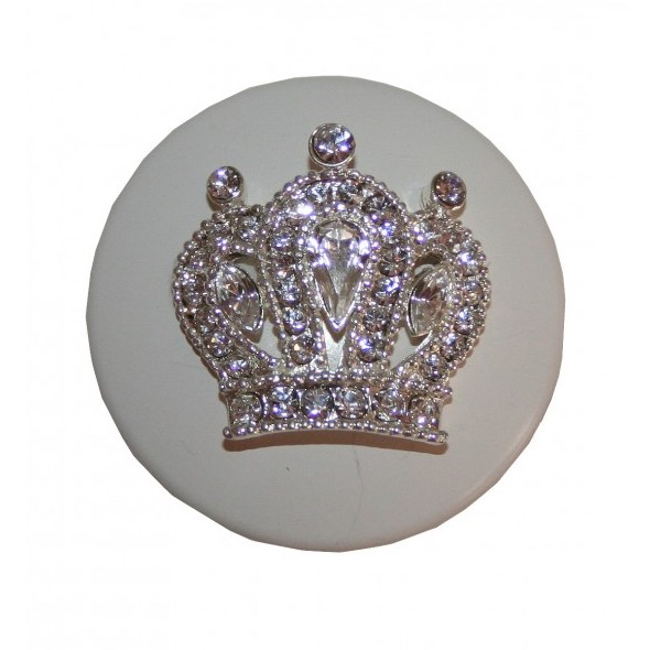 Princess Crown Furniture Or Cabinet Knob