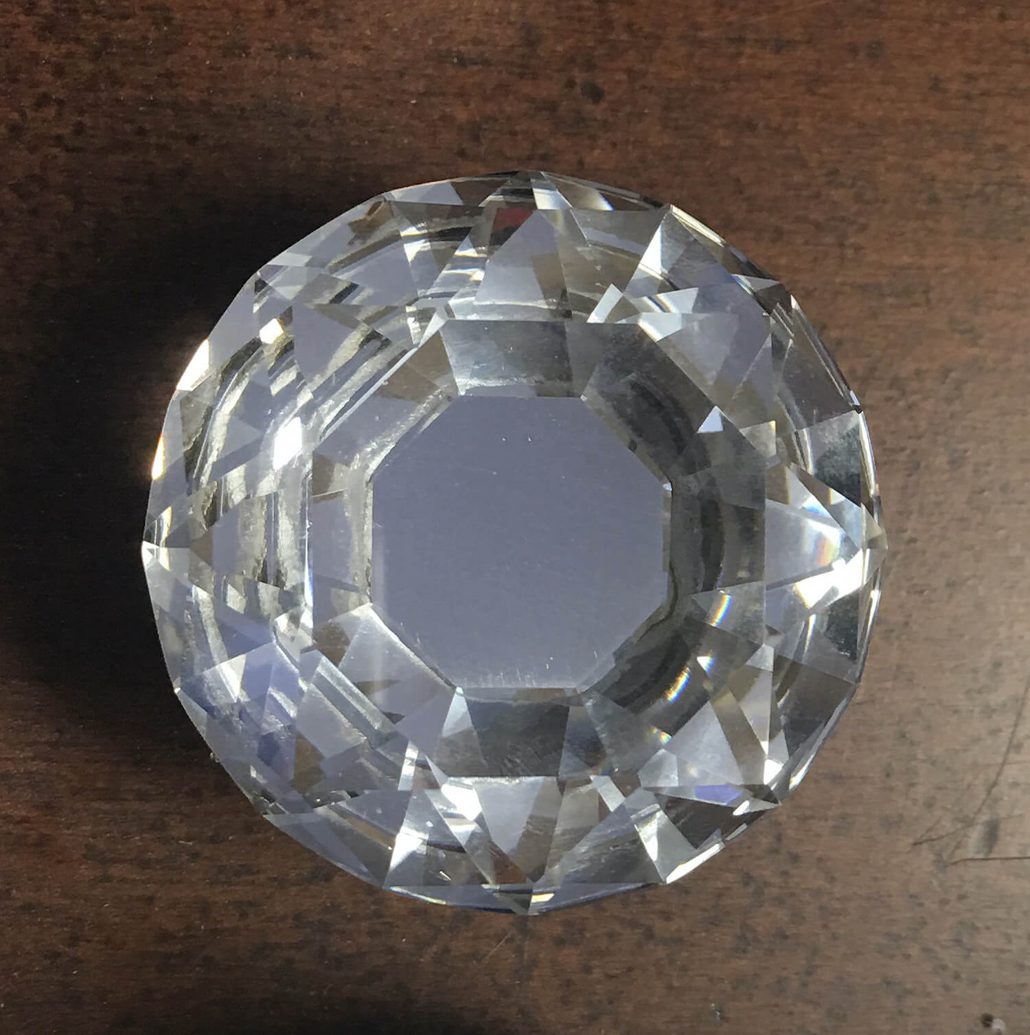 Large Crystal Furniture Or Cabinet Knob