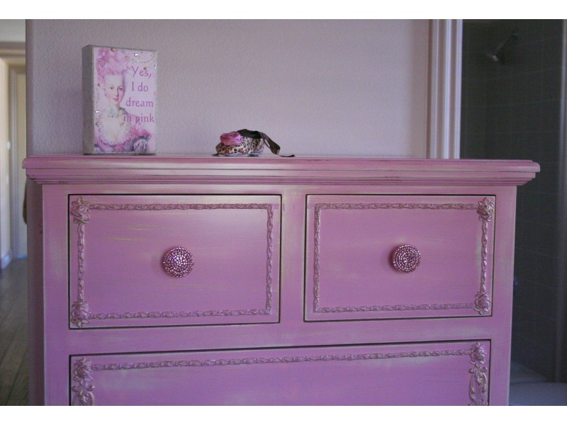 Pink Brilliant Furniture Or Cabinet Knob