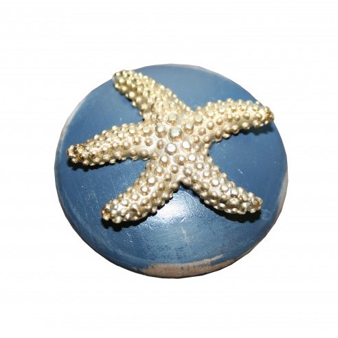 Starfish Furniture Or Cabinet Knob